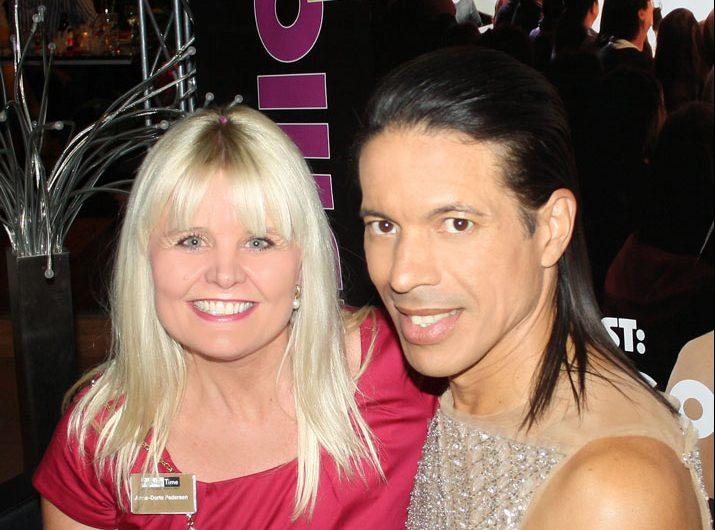 Anne mit Jorge Gonzalez von Let's dance