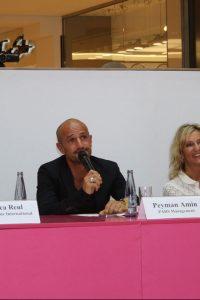 Jury beim Modelcasting mit Peyman Amin
